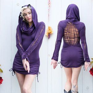 Hand Snipped Bamboo Dress - Warrior Within Designs